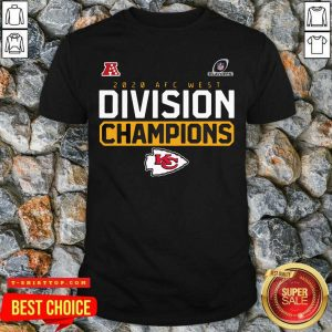 Nice Kansas City Chiefs Division Champions Playoffs Shirt - Design by Tshirttop