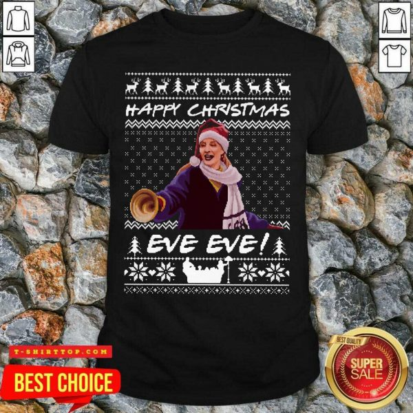 Official Happy Christmas Eve Eve Ugly Xmas Shirt - Design by Tshirttop