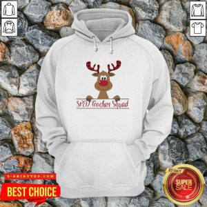 Reindeer Sped Teacher Squad Christmas Hoodie - Design by Tshirttop
