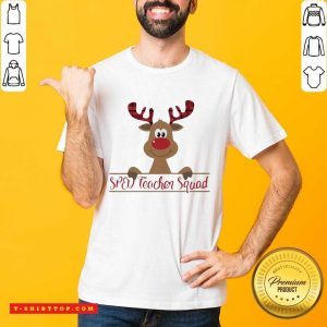 Reindeer Sped Teacher Squad Christmas Shirt - Design by Tshirttop