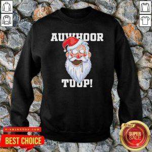 Santa Claus Auwhoor Tuup Christmas SweatShirt - Design by Tshirttop