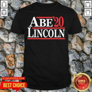 Official Abe Lincoln 2020 Election Shirt - Design by Tshirttop
