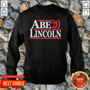 Official Abe Lincoln 2020 Election SweatShirt - Design by Tshirttop