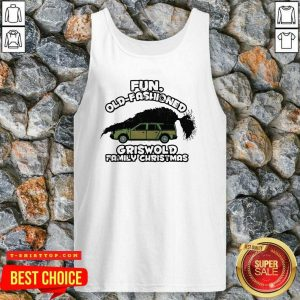 Fun Old Fashioned Griswold Family Christmas Tank Top - Design by Tshirttop