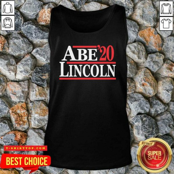 Official Abe Lincoln 2020 Election Tank Top - Design by Tshirttop