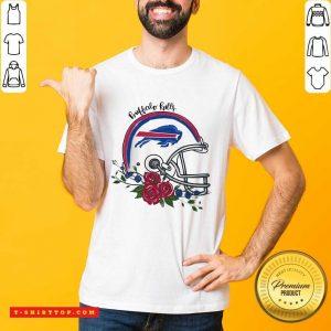 Top Buffalo Bills Floral Shirt - Design by Tshirttop