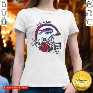 Top Buffalo Bills Flora-l V-neck - Design by Tshirttop