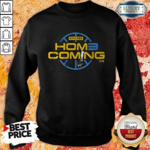 Frightened Candace Parker Hom3coming 1 Chicago Sweatshirt - Design by T-shirttop.com