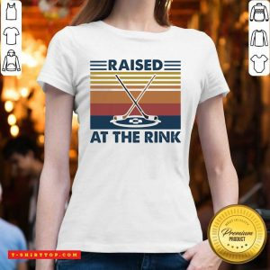 Good Raised A The Rink Golf Ball Vintage V-neck