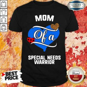 Great Mom A Special Needs Heart 2 Shirt