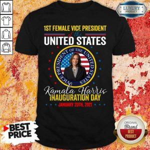 Terrible Kamala Harris First Female Vice 2 Shirt