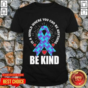 Be Kind Suicide 4 Awareness Shirt - Design by T-shirttop.com