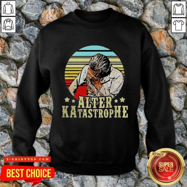 Fantastic Alter Katastrophe Vintage Sweatshirt