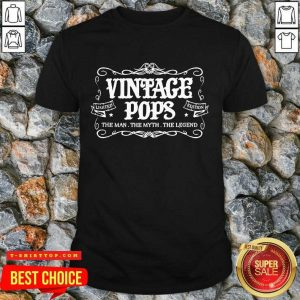 Vintage Pops 1 Limited Edition Shirt - Design by T-shirttop.com