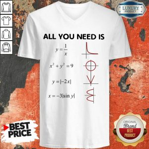 Fantastic All You Need Is LOVE V-neck
