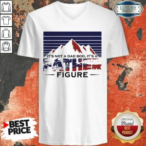 It's A Father Figure American Flag V-neck