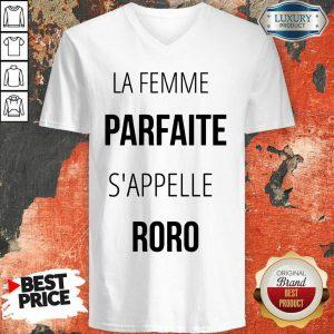 La Femme Parfaite S'appelle Roro V-neck