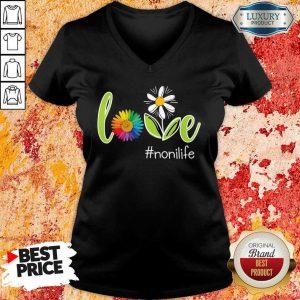 LGBT Flower Love Noni Life V-neck