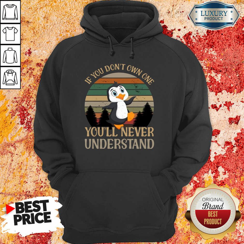 Penguin Dont Own One You'll Never Understand Hoodie