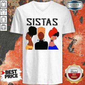 Sistas Three Girl V-neck